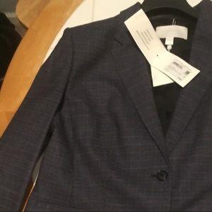Dark blue Hugo Boss suit jacket